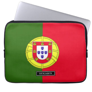 ポルトガルの旗 ラップトップスリーブ