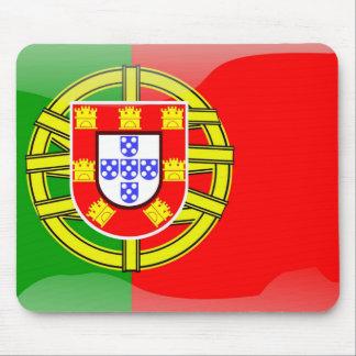 ポルトガルの涼しい旗のカラフルな国の国籍 マウスパッド