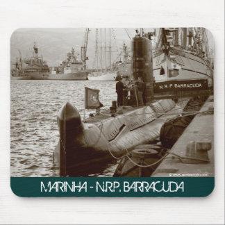 ポルトガルの潜水艦NRPのカマス マウスパッド