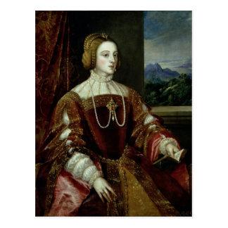 ポルトガルの皇后イザベラのポートレート ポストカード