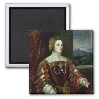 ポルトガルの皇后イザベラのポートレート マグネット