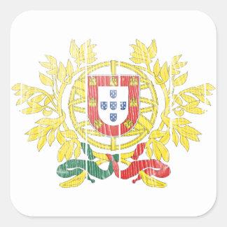 ポルトガルの紋章付き外衣 スクエアシール