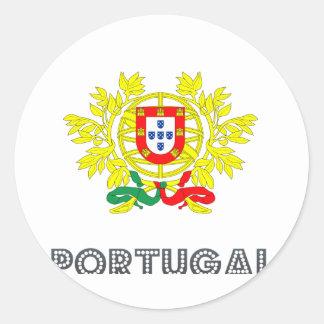 ポルトガルの紋章 ラウンドシール