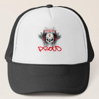 ポルトガルの誇りを持ったなトラック運転手の帽子 キャップ