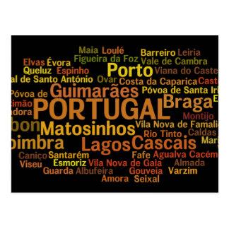 ポルトガルの郵便はがき ポストカード