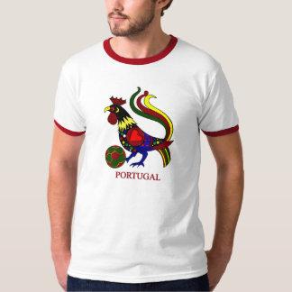 """ポルトガルのbarcelos """"galo"""" jogador de futebol tシャツ"""