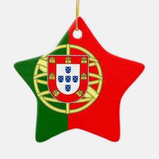 ポルトガルのflageのデザイン セラミックオーナメント