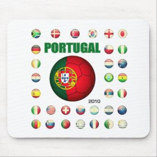 ポルトガルのTシャツD7 マウスパッド