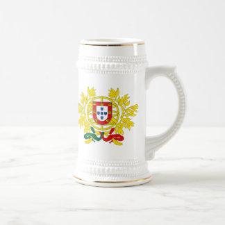 ポルトガルビールステインのマグ ビールジョッキ