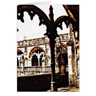ポルトガル修道院- Mosteiro dos Jeronimos カード