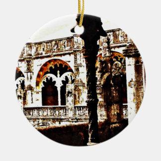 ポルトガル修道院- Mosteiro dos Jeronimos セラミックオーナメント