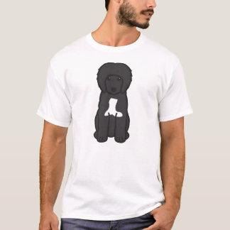 ポルトガル水犬の漫画 Tシャツ