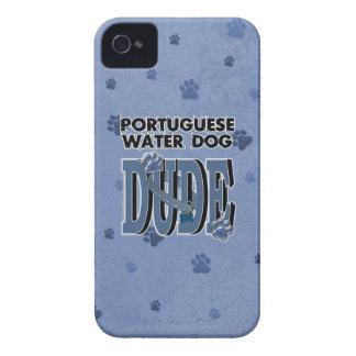 ポルトガル水犬の男 Case-Mate iPhone 4 ケース