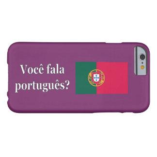 ポルトガル語を話しますか。 ポルトガル語。 旗のwf barely there iPhone 6 ケース