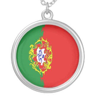 ポルトガル|すごい|旗 パーソナライズネックレス