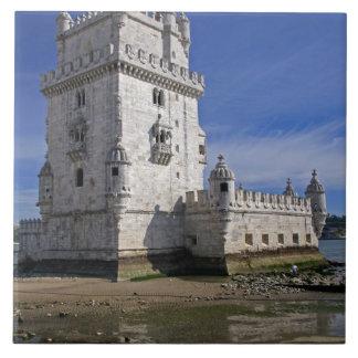 ポルトガル、リスボン。 ベレンタワー、ユネスコの世界 タイル