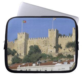 ポルトガル、リスボン。 Castelo de Saoホルヘ ラップトップスリーブ