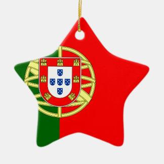 ポルトガル(Bandeira deポルトガル)の旗 セラミックオーナメント