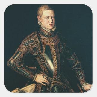 ポルトガル、c.1571のセバスチャン王 スクエアシール