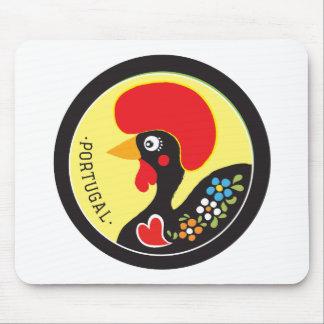 ポルトガル- Galo de Barcelosの記号 マウスパッド