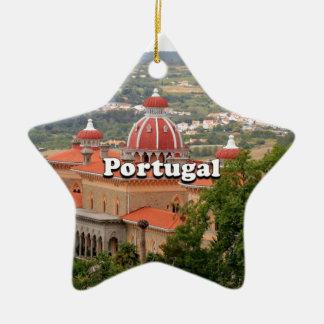 ポルトガル: Sintraの近くのMonserrate宮殿、 セラミックオーナメント