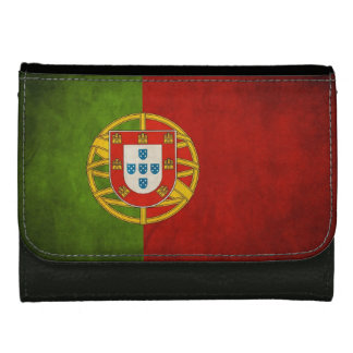ポルトガルBandeira deポルトガルのグランジな旗 ウォレット