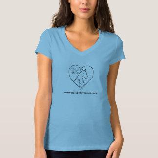 ポロ用の小馬の救助のTシャツ Tシャツ