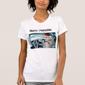 ポンティアクの酔っぱらった元の女性のT Tシャツ
