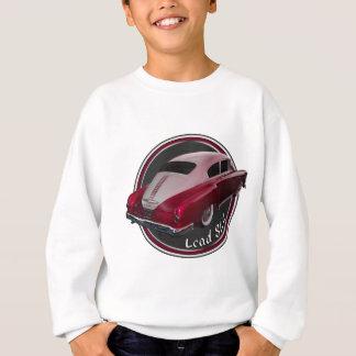ポンティアクの鉛のそりの赤く低いライダー スウェットシャツ