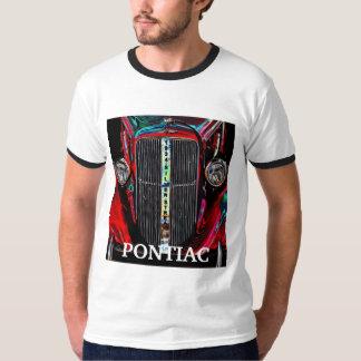 ポンティアクの銀製の縞 Tシャツ