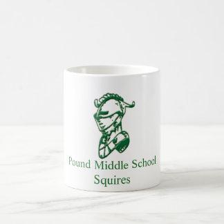 ポンドの中学校のマグ コーヒーマグカップ