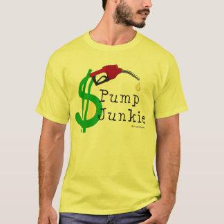 ポンプ麻薬常習者のTシャツ Tシャツ