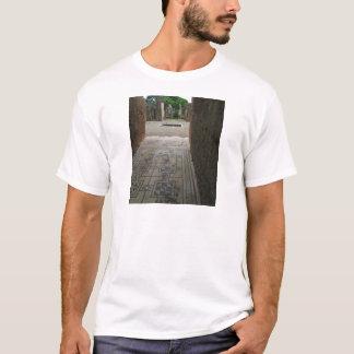 ポンペイのモザイク床 Tシャツ