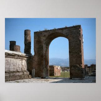 ポンペイのローマの出入口 ポスター