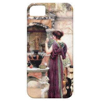 ポンペイの女性のGodwardの庭 iPhone SE/5/5s ケース
