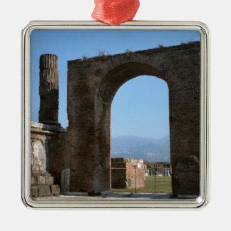 ポンペイの考古学的な場所 メタルオーナメント