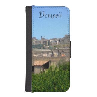 ポンペイイタリアの電話ウォレットケース iPhoneSE/5/5sウォレットケース