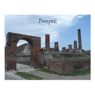ポンペイ、イタリア ポストカード