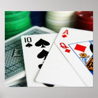 ポーカーカード ポスター