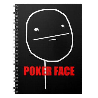 ポーカーフェースのミーム ノートブック