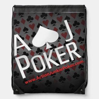 ポーカープレイヤーのバックパック ナップサック