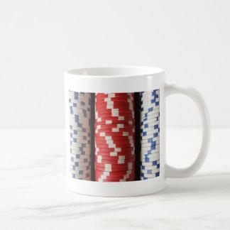ポーカー用のチップ コーヒーマグカップ