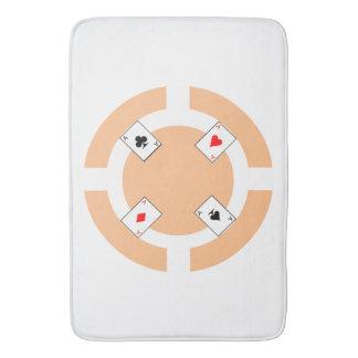 ポーカー用のチップ-モモ バスマット