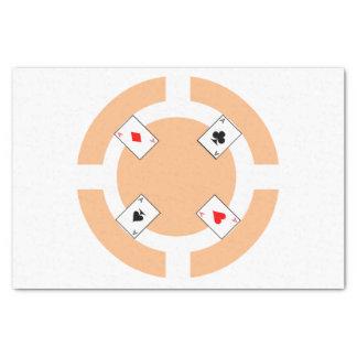 ポーカー用のチップ-モモ 薄葉紙