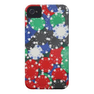 ポーカー用のチップ Case-Mate iPhone 4 ケース