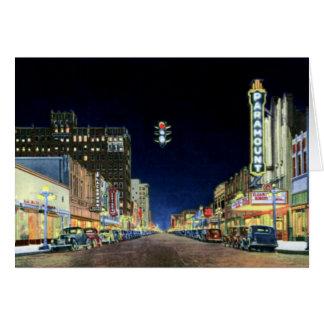 ポークの通りのアマリロ夜場面 カード