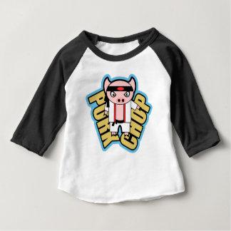 ポークチョップ ベビーTシャツ