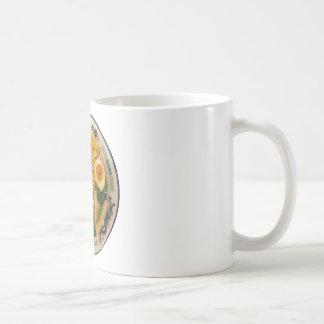 ポークラーメンのヌードル・スープ コーヒーマグカップ