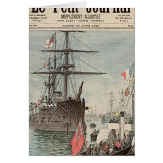 ポーツマスのフランスのな小艦隊 カード