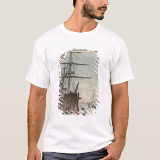 ポーツマスのフランスのな小艦隊 Tシャツ
